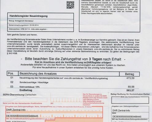 AgenturWP Blog HRG Abzock