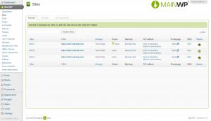 AgenturWP Übersetzung MainWP Dashboard