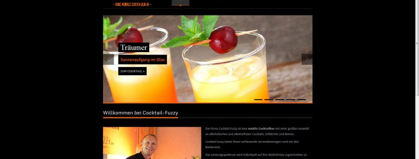 AgenturWP WordPress Web-Projekt Cocktail Fuzzy