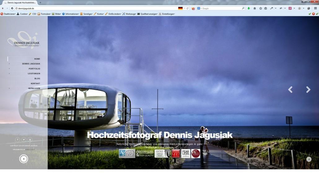 AgenturWP Webprojekt Dennis Jagusiak Hochzeitsfotograf