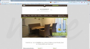 AgenturWP WordPress Web-Projekt FEWO Eulennest